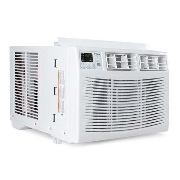 8,000 Energy Star Window Air Conditioner with Remote by Della