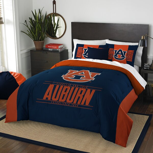 NCAA 3 Piece Full/Queen Comforter Set by Northwest