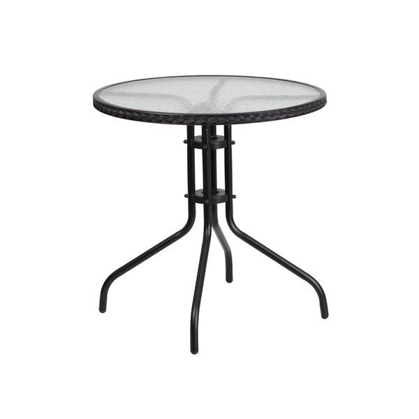 Thora Metal Bar Table by Winston Porter
