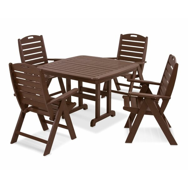 Nautical 5 Piece Dining Set by POLYWOOD®