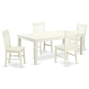 Beesley 5 Piece Solid Wood Dining Set By Darby Home Co