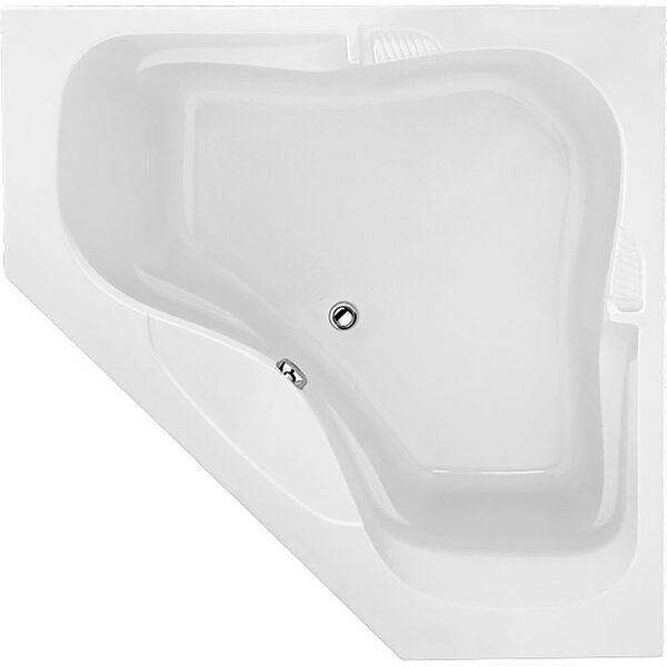 Designer Lara 60 x 60 Air Tub by Hydro Systems