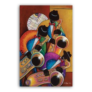 Jazz Painting Print by African American Expressions