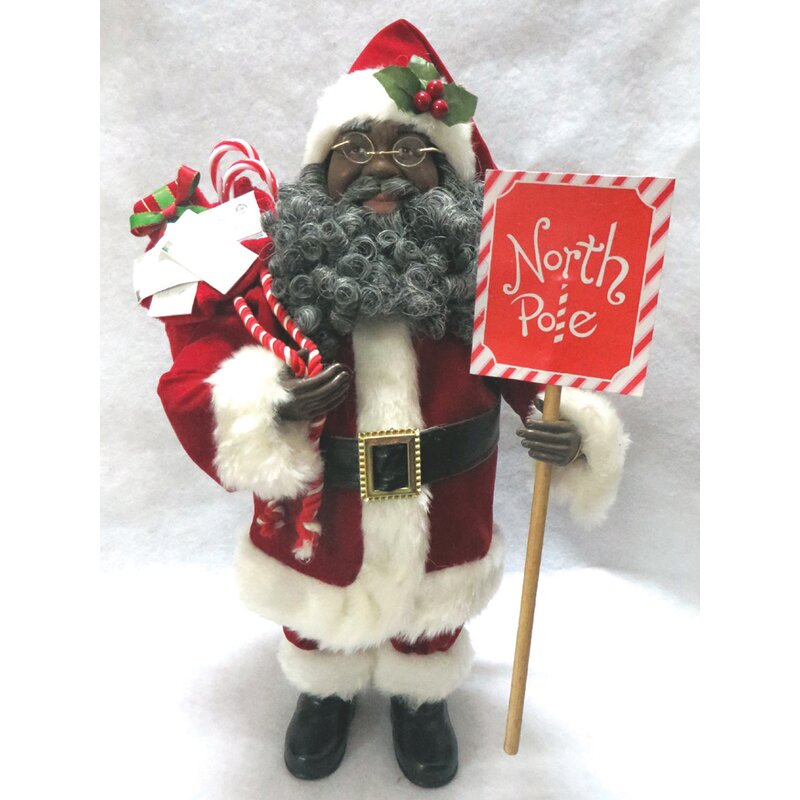 Santas Workshop Baker Claus Figurine 15 Tall Red//White