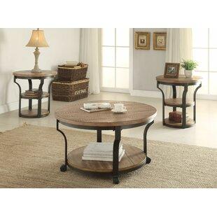 Affordable Milaca 3 Piece Coffee Table Set ByGracie Oaks