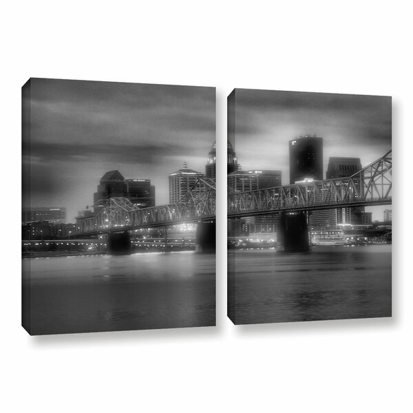 Gritty City by Steve Ainsworth 2 Piece Photographic Print on Gallery Wrapped Canvas Set by ArtWall