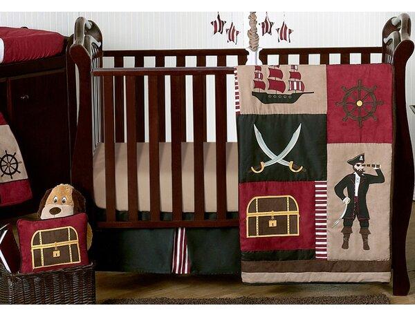 Pirate Treasure Cove 11 Piece Crib Bedding Set by Sweet Jojo Designs