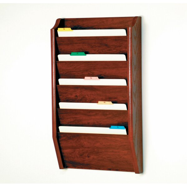 Five Pocket Legal Size File Holder by Wooden Mallet| @ $111.00