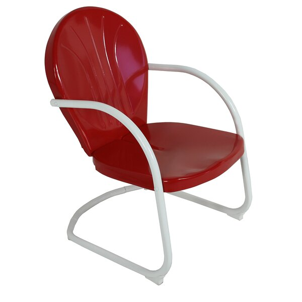 Retro Patio Dining Chair by Jack Post