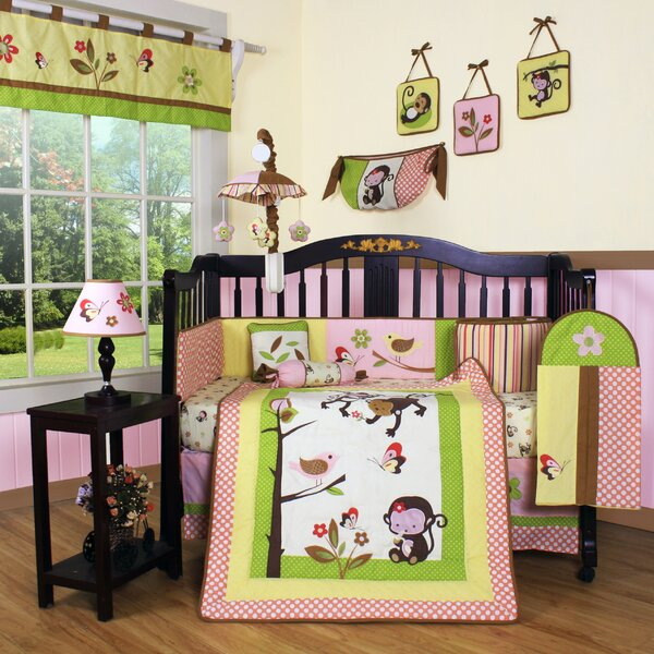 Fontaine Polka Dot 13 Piece Crib Bedding Set by Zoomie Kids
