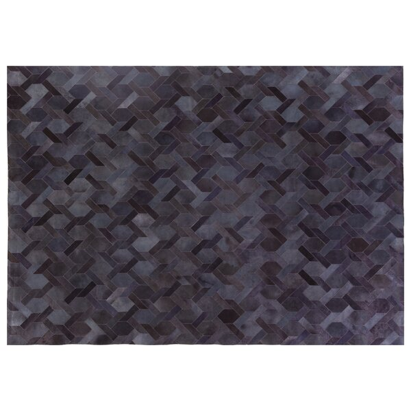 Natural Hide Gray Area Rug by Exquisite Rugs
