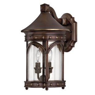 Compare & Buy Lucerne 2-Light Outdoor Wall Lantern By Hinkley Lighting