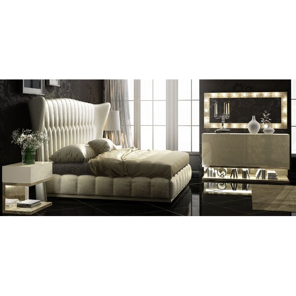 Longville King Platform 5 Piece Bedroom Set by Mercer41