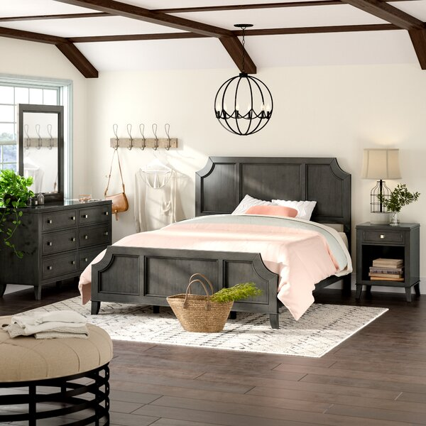 Calderdale Panel Configurable Bedroom Set by Graci