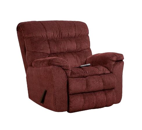 Simmons Upholstery Eiland Heat and Massage Rocker Recliner by Red Barrel Studio