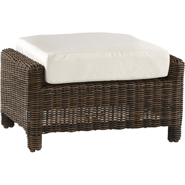 Spurlin Del Ray Ottoman with Cushion by Bay Isle Home