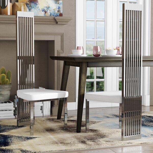 Clower Upholstered Dining Chair by Orren Ellis