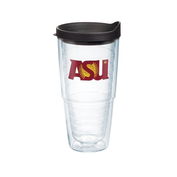 Collegiate Arizona State 24 oz. Plastic Every Day Glass by Tervis Tumbler