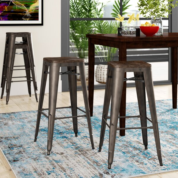 Alyssa 30 Bar Stool (Set of 4) by Zipcode Design