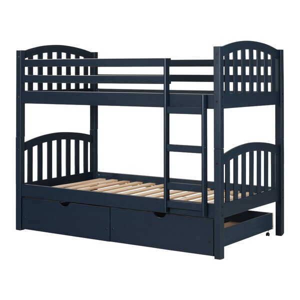 Ulysses Bunk Bed with Storage Drawers by South Shore