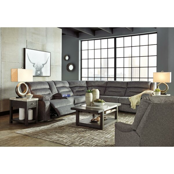 Review Reade Left Hand Facing Reclining Sectional