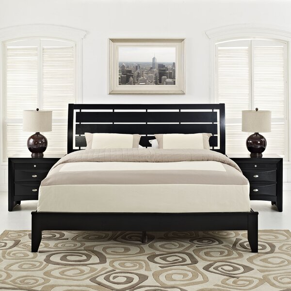 Olivia Platform 3 Piece Bedroom Set by Modway