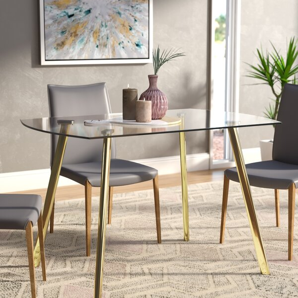 Leia Dining Table by Wrought Studio