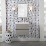 Azucena 24.5 Wall-Mounted Single Bathroom Vanity by Orren Ellis