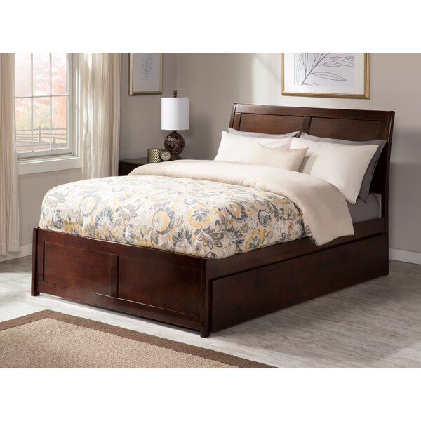 Quitaque Full Platform Bed With Full Trundle By Harriet Bee