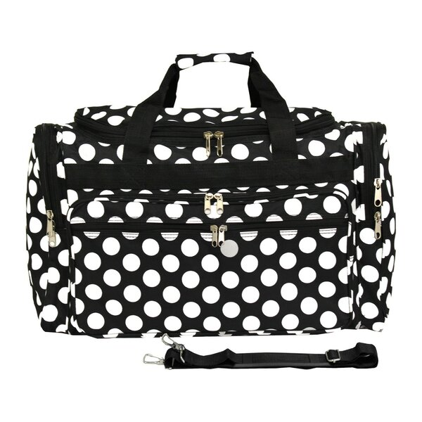 Dots ll 19 Shoulder Duffel by World Traveler