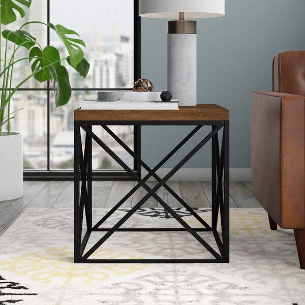 Goodlow End Table by Mercury Row