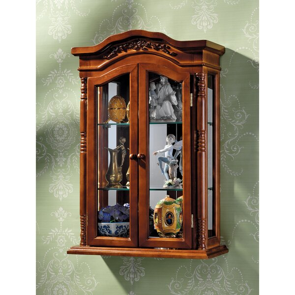 Beacon Hill Wall-Mounted Curio Cabinet by Design Toscano