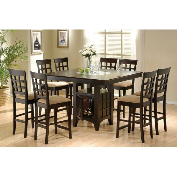 Yemina 9 Piece Counter Height Dining Set by Red Barrel Studio Red Barrel Studio