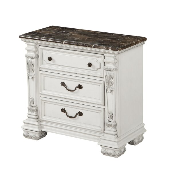Stockport 3 Drawer Nightstand by Ophelia & Co.
