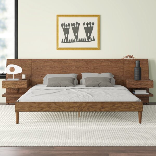 Platform Bed With Night Stands