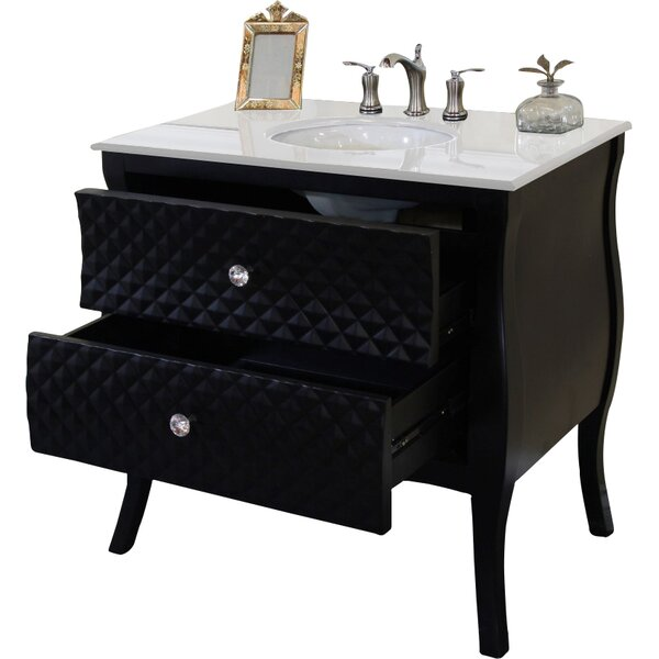 35.4 Single Bathroom Vanity Set by Bellaterra Home