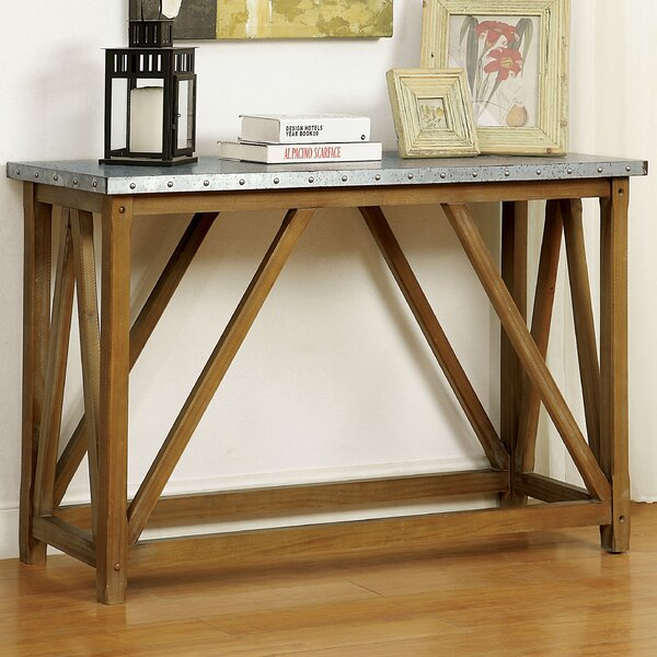 Gracie Oaks Brown Console Tables