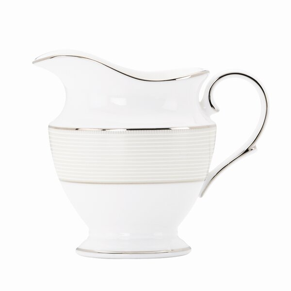 Opal Innocence Stripe 8 oz. Creamer by Lenox