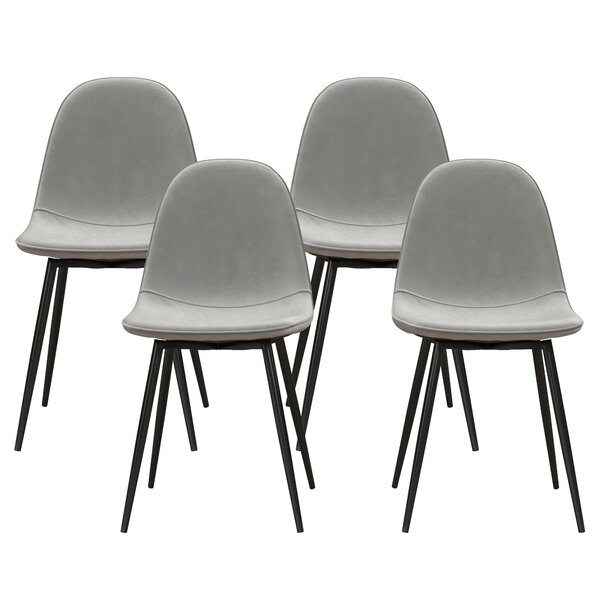 Bowen Upholstered Dining Chair (Set of 4) by Hashtag Home