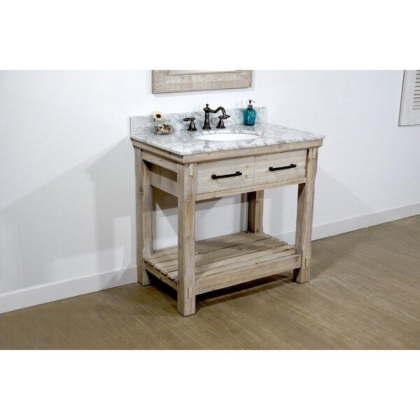 Adam 37 Single Bathroom Vanity Set by Millwood Pines