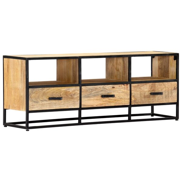 Zenaida Solid Wood TV Stand for TVs up to 48