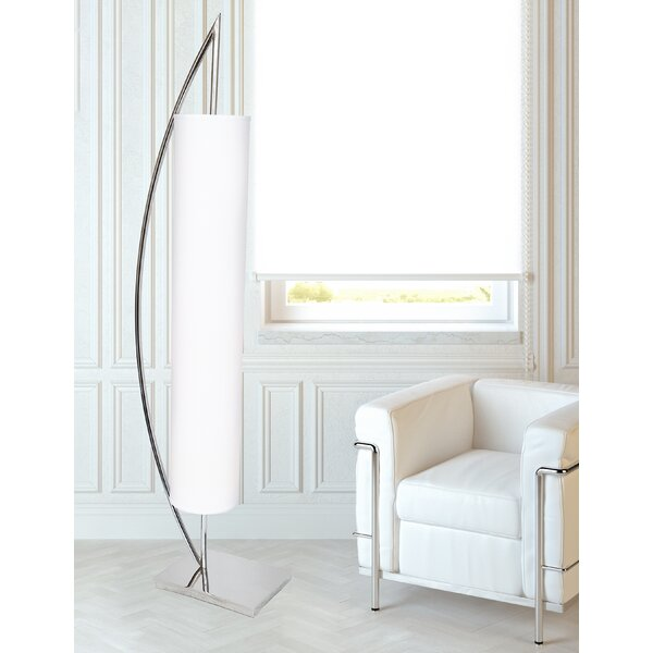 Bergues 65 Floor Lamp by Orren Ellis