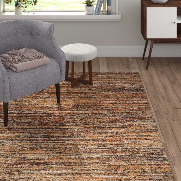 Gaines Ivory/Gold Area Rug by Langley Street