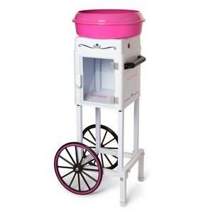 Hard and Sugar-Free Cotton Candy Cart