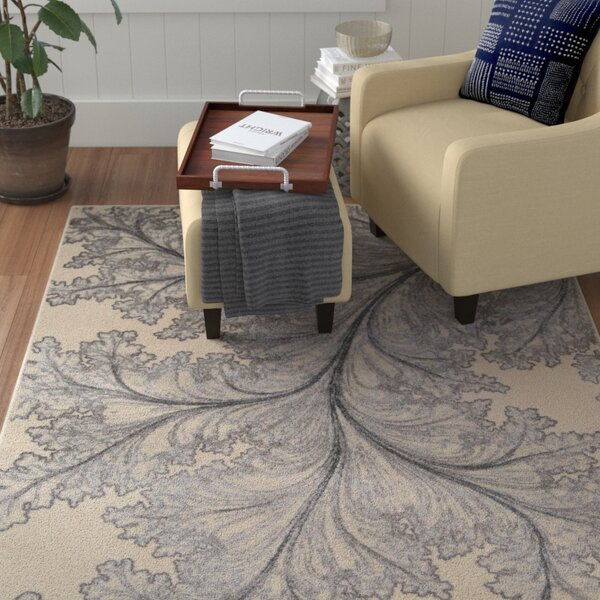 Hassie Ivory Rug by Red Barrel Studio