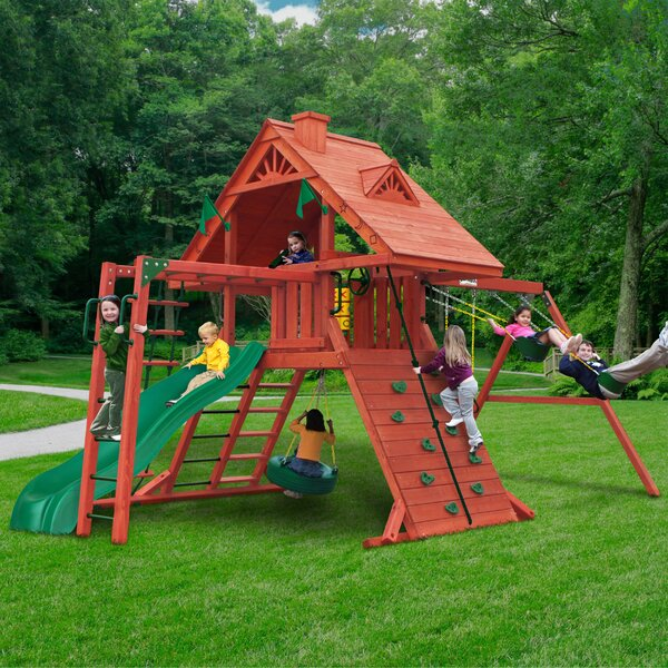 Sun Valley Swing Set by Gorilla Playsets