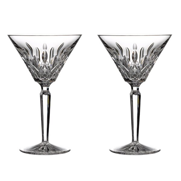 Lismore Martini 4 Oz. Cocktail Glass (Set of 2) by Waterford