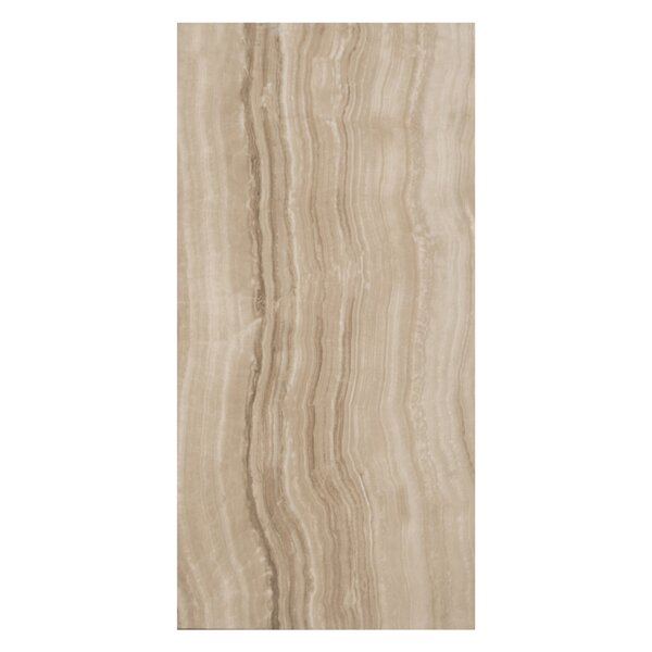Velvet 12 x 24 Porcelain Field Tile in Walnut by Casa Classica