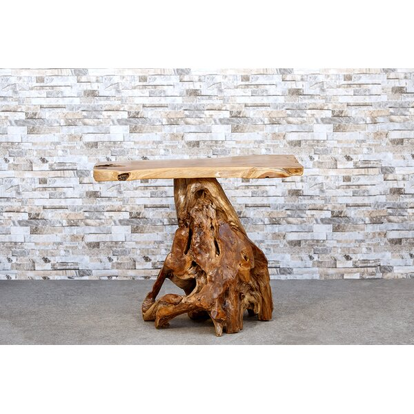 Teak Console Table by Garden Age