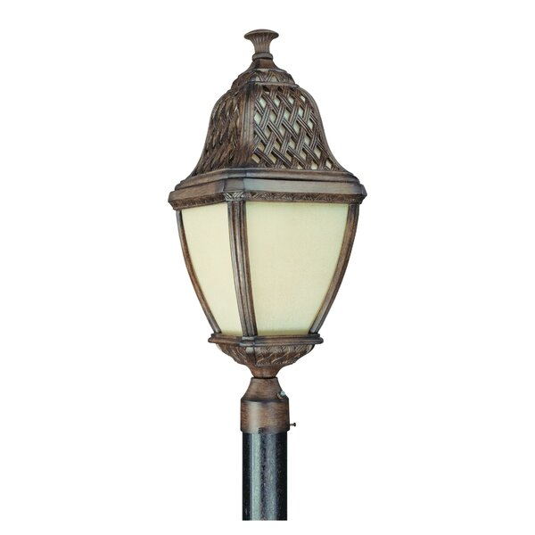 Theodore Traditional Post Lantern in Biscayne by Darby Home Co